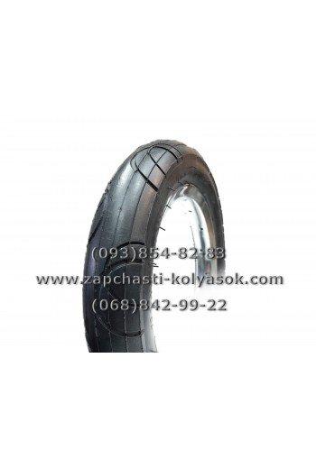 Покрышка (шина) 12 1/2*2 1/4 (57-203). Полукольца черная 12 дюймов.