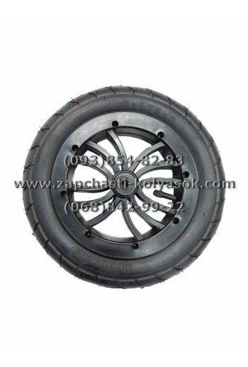 Колесо надувное Паук 10 дюймов черное