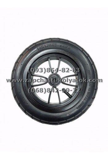 Колесо надувное 10 дюймов с черным диском. Модель 1