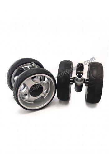 Колесный блок для прогулочной коляски, коляски-трости