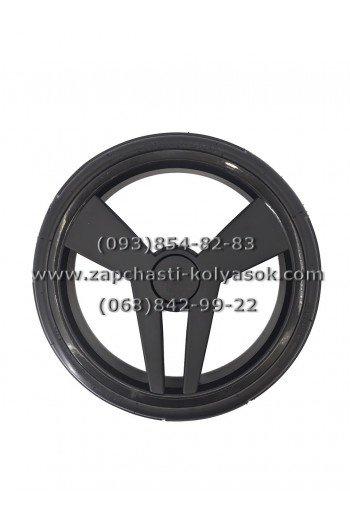 Колесо гелевое (бескамерное) черное 12 дюймов к коляскам Tako