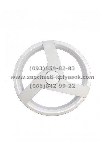Диск заднего колеса белый 12 дюймов Adamex