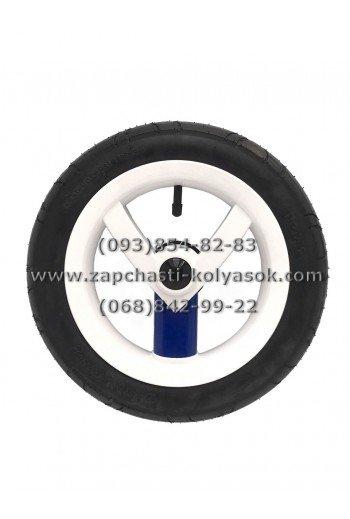 Колесо надувное Adamex Рогатка 12 дюймов с синей вставкой